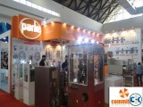 Exhibition fair stall pavilion powered by commitment