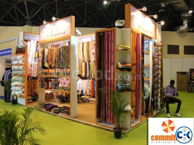 Stall Design Company in dhaka powered by commitment | ClickBD large image 2
