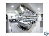 Stainless Steel Commercial Kitchen Equipment Bangladesh