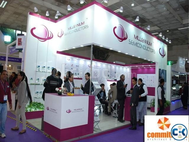 Customized Stall Design Fabrication by commitment | ClickBD large image 0
