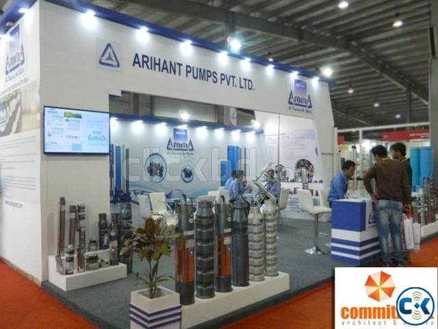 Customized Stall Design Fabrication by commitment | ClickBD large image 2
