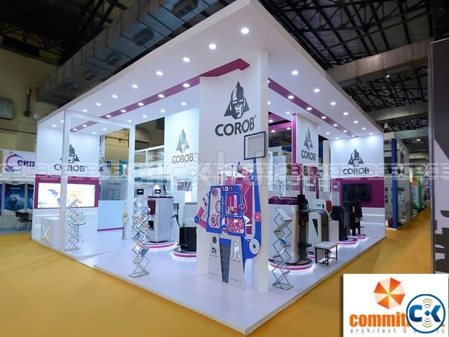 New Items Exhibition Stall Fabrication Service by commitment | ClickBD large image 0