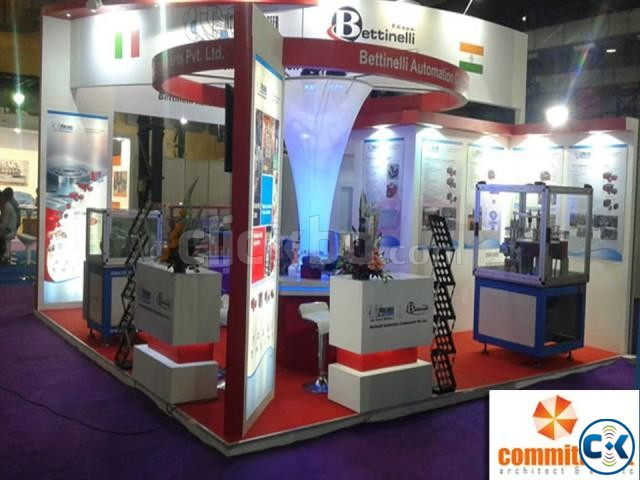 New Items Exhibition Stall Fabrication Service by commitment | ClickBD large image 4