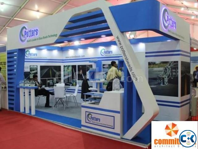 Stall Fabrication Services by commitment | ClickBD large image 3