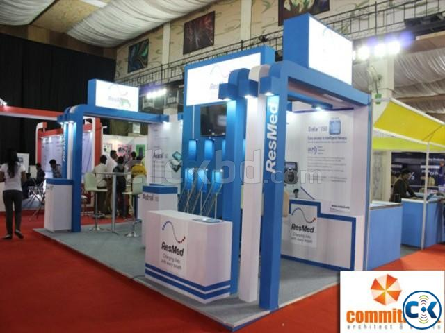 Promotional Exhibition Stall Fabrication by commitment | ClickBD large image 0