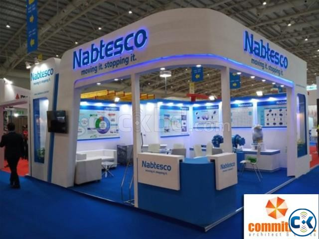 Promotional Exhibition Stall Fabrication by commitment | ClickBD large image 1