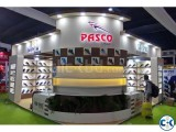Stand Design and Stall Design Fabrication by commitment