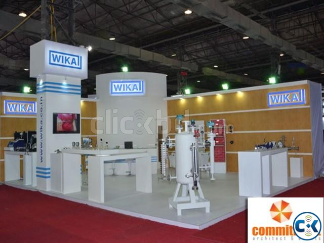 Exhibition Stall Fabrication And Designing by commitment | ClickBD large image 0