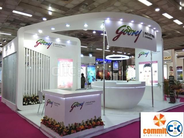 Exhibition Stall Fabrication And Designing by commitment | ClickBD large image 1