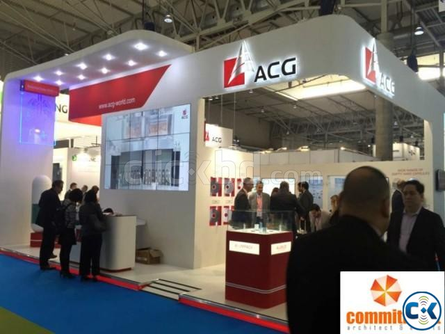 Exhibition Stall Fabrication And Designing by commitment | ClickBD large image 2