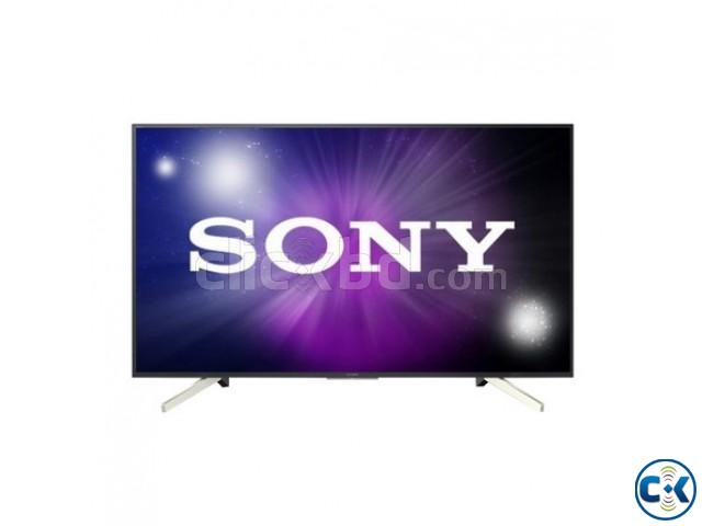 Sony bravia 49X7500F Ultra HD Android TV | ClickBD large image 0