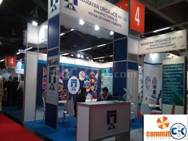 Modular Exhibition Stand Designing Service by commitment | ClickBD large image 1