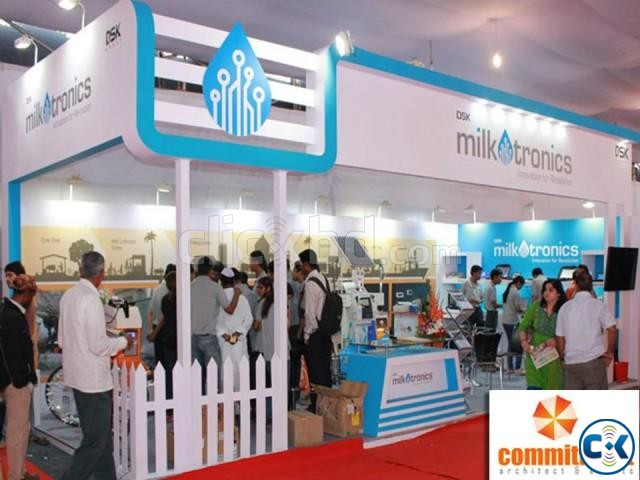 Stall Fabrication for at Shelter Expo by commitment | ClickBD large image 3