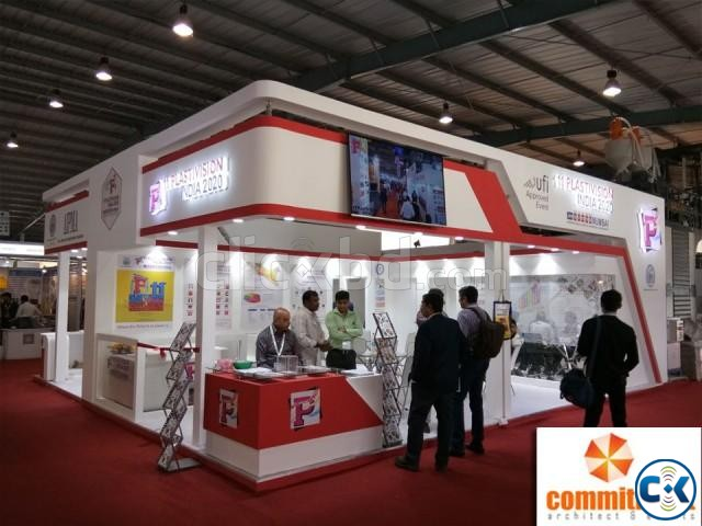 Fabrication House Exhibition Stall Fabrication by commitment | ClickBD large image 0