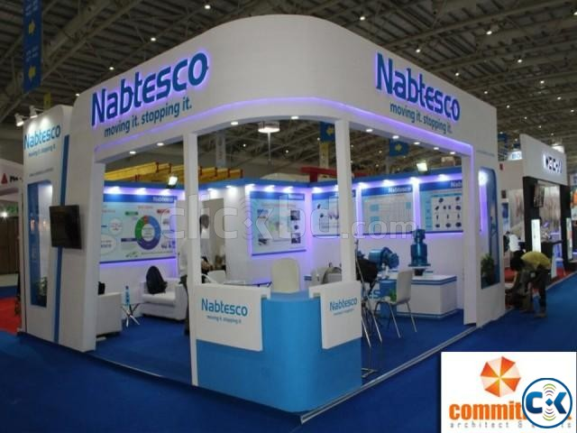 Exhibition Stall Booth Fabricators Stage by commitment | ClickBD large image 0