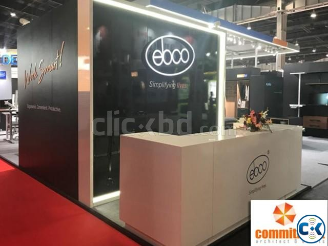 Make Stall 3D Stall Designer Stand Fabricator by commitment | ClickBD large image 0