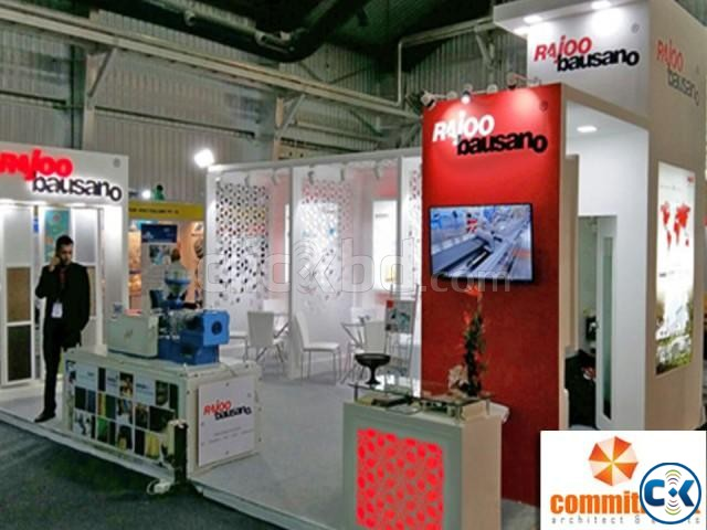 Make Stall 3D Stall Designer Stand Fabricator by commitment | ClickBD large image 3
