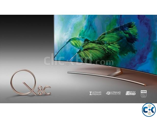 SAMSUNG 65Q8C 4K HDR CURVED SMART TV | ClickBD large image 4