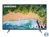 SAMSUNG 75NU7100 4K HDR SMART FLAT TV
