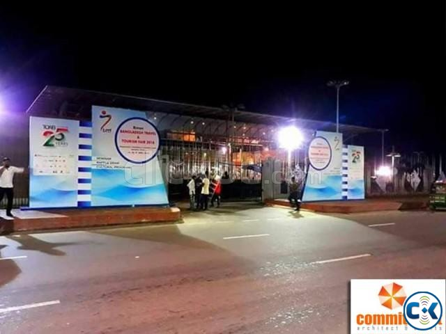 Outdoor Gate Branding in Dhaka by commitment | ClickBD large image 0
