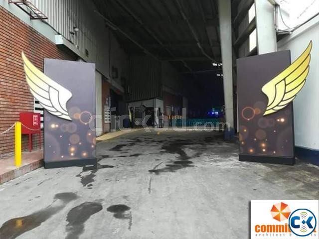 Outdoor Gate Branding in Dhaka by commitment | ClickBD large image 3