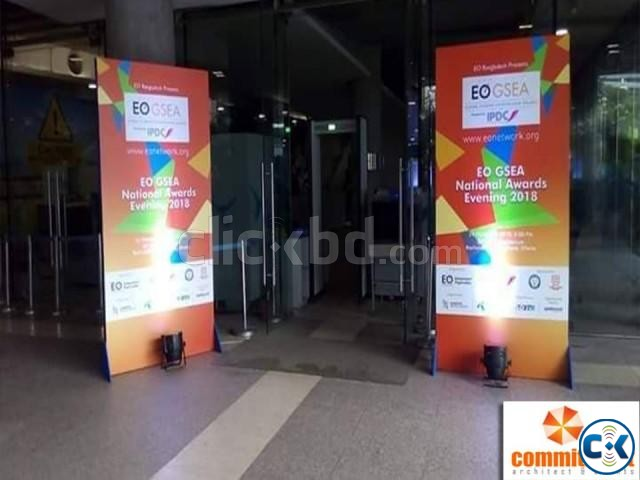 Society Entrance Gate Branding Services by commitment | ClickBD large image 3