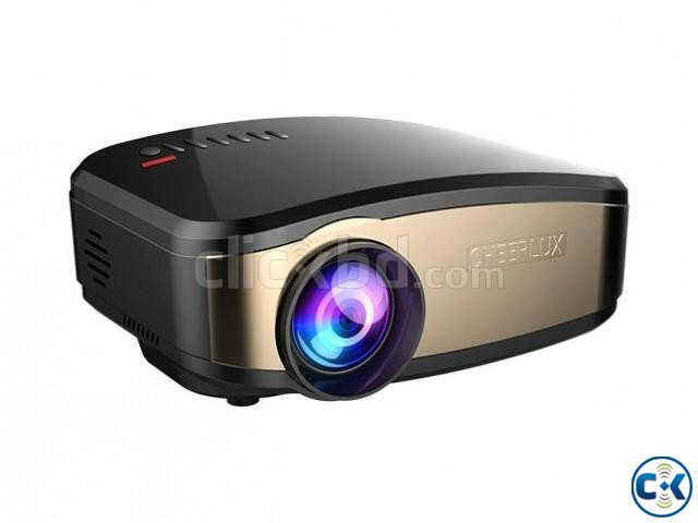 Cheerlux projector C6 mini video projector has 1200 lumens | ClickBD large image 1