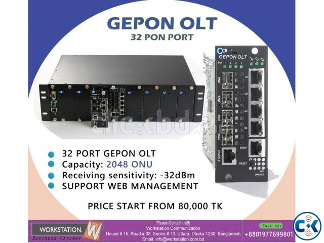 32 port olt | ClickBD large image 0