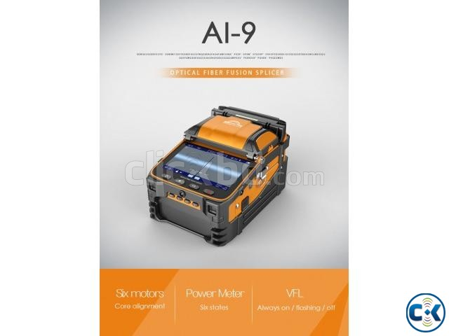 AI-9 Automatic Splicer with power meter build-in | ClickBD large image 0