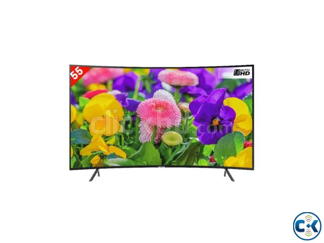 Samsung 55NU7300 Curved 55 UHD Smart TV | ClickBD large image 1