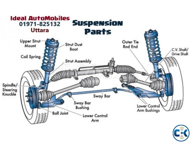 Car Suspension Services Dhaka | ClickBD large image 1