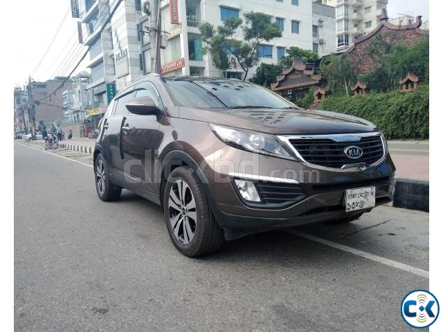 KIA SPORTAGE BROWN SUNROOF MOONROOF 2011 | ClickBD large image 0