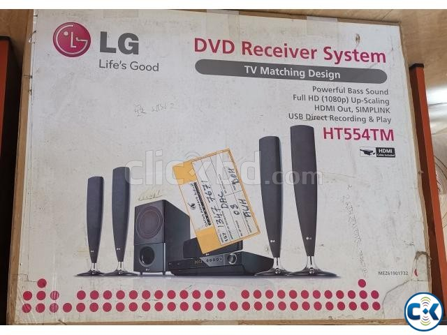 LG 5.1 Home Theater and DVD system | ClickBD large image 0