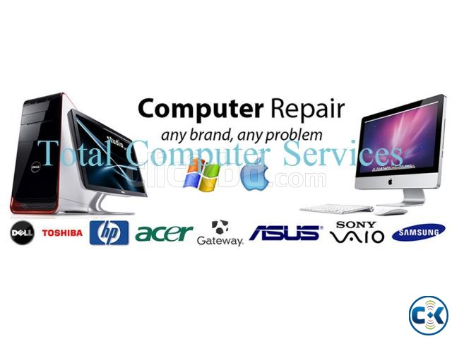 Computer service Hardware Software Solution office | ClickBD large image 0