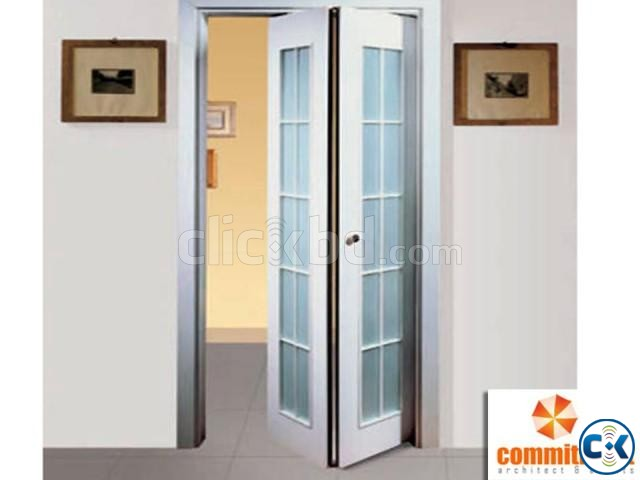 Aluminium Folding Door Multi-Leaf BY COMMITMENT 01881143453 | ClickBD large image 2
