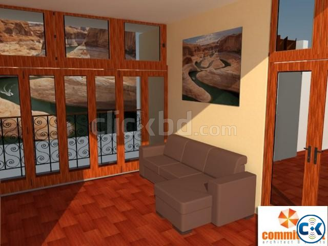 Folding Door With Colorful Door Profiles by COMMITMENT | ClickBD large image 1