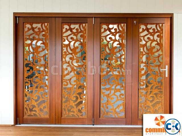 Folding Door With Colorful Door Profiles by COMMITMENT | ClickBD large image 4