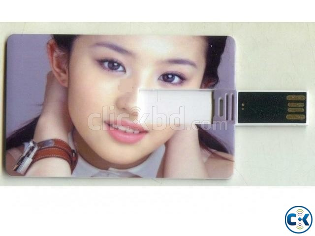 Card Shape Pendrive 64GB | ClickBD large image 1