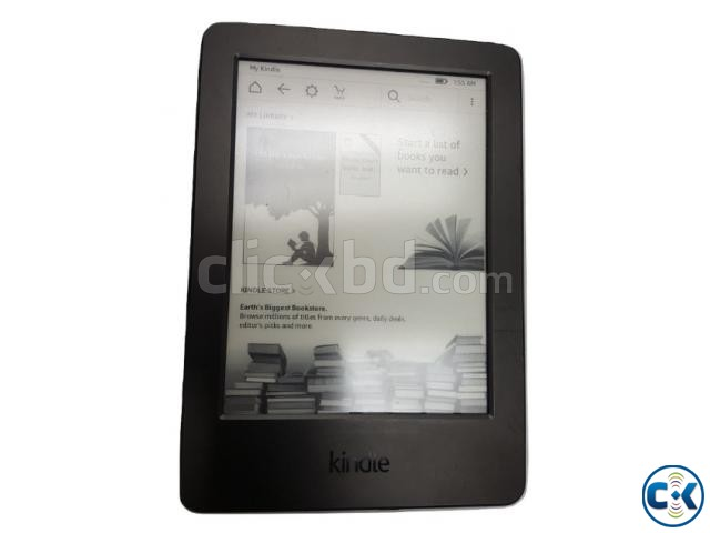 Amazon Kindle 6 4GB 7th Gen -Wi-Fi -Black | ClickBD large image 0
