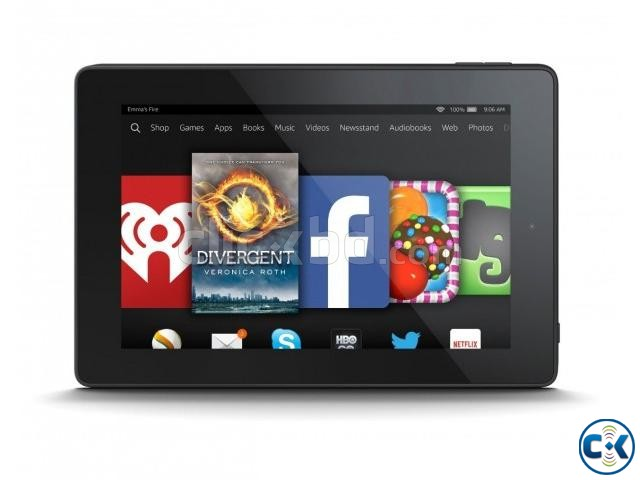 Amazon Fire HD7 4th Gen 7 16GB Wi-Fi -Black | ClickBD large image 1
