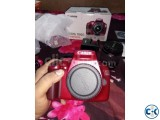 CANON EOS 1100D HD DSLR Red Edition Brand new