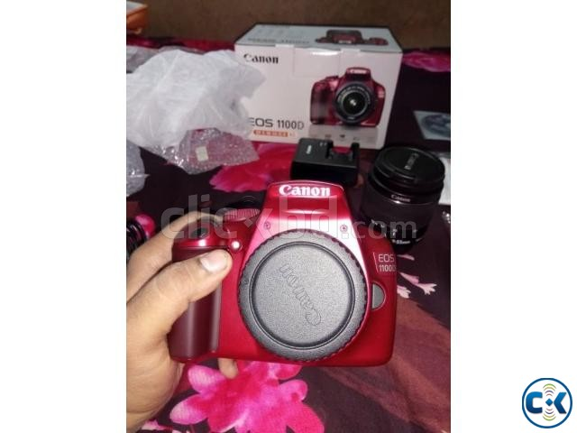 CANON EOS 1100D HD DSLR Red Edition Brand new | ClickBD large image 0