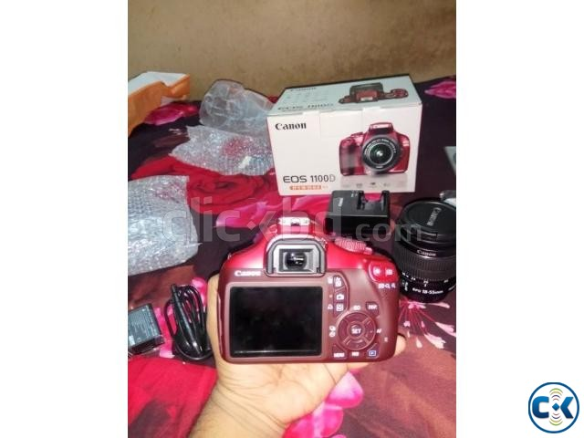 CANON EOS 1100D HD DSLR Red Edition Brand new | ClickBD large image 3