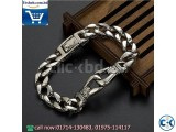 Stainless Steel Silver Color Round Men s Bracelet