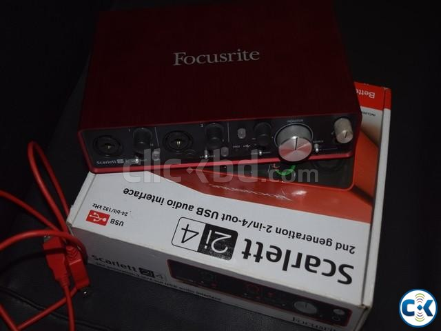 Audio Interface Focusrite 2i4 | ClickBD large image 0