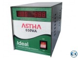 ASTHA IDEAL 650VA Automatic Voltage Stabilizer