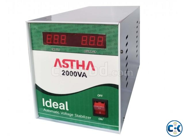 ASTHA IDEAL 2000VA Automatic Voltage Stabilizer | ClickBD large image 0
