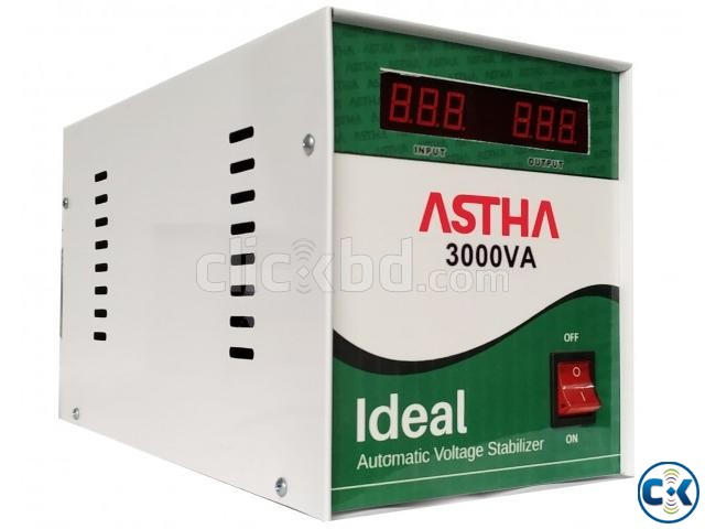 ASTHA IDEAL 3000VA Automatic Voltage Stabilizer | ClickBD large image 0