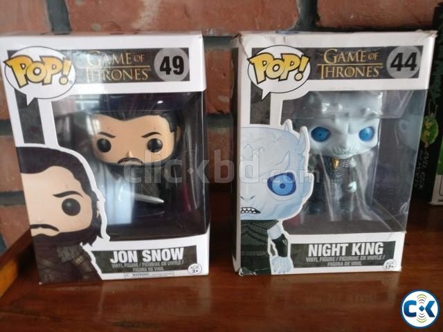 Game of Thrones Funko POPs | ClickBD large image 0