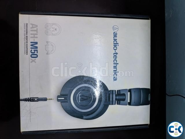 Audio Technica ath-m50x | ClickBD large image 2